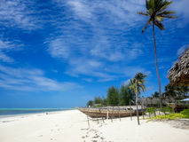 Zanzibar beach Royalty Free Stock Photos