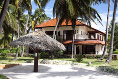 Zanzibar Beach Resort. View of the guest accomodation at Breezes Beach Club Resort and Spa in Zanzibar, Tanzania Stock Photos