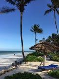 Zanzibar Beach Resort Stock Image