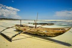 Zanzibar beach Tanzania Royalty Free Stock Image