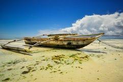 Zanzibar beach Tanzania Stock Photos