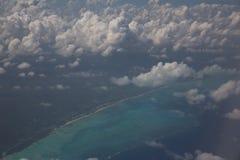 Zanzibar dall'aria Fotografie Stock Libere da Diritti
