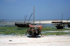 Zanzibar Fishermen Stock Photography