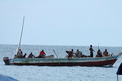 Zanzibar fishermen Stock Photo