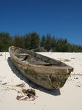 Zanzibar fishing boat Stock Images