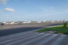 Zanzibar flygplats, Tanzania Royaltyfria Foton