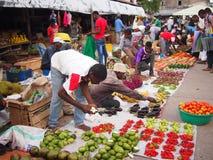 Zanzibar frukt & Veg Stall Royaltyfria Foton