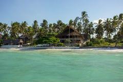 Zanzibar, turquoise sea, unique nature, paradise island. stock image