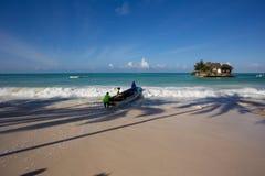 Zanzibar, turquoise sea, unique nature, paradise island. royalty free stock photos