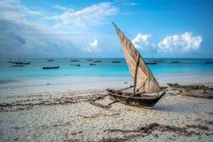 Zanzibar mvuvi Fotografia Stock