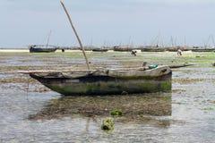 Zanzibar, Nungwi: boat Stock Photography