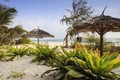 Zanzibar plaża Zdjęcia Royalty Free