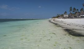 Zanzibar, praia de Nungwi, Tanzânia: fotografia de stock