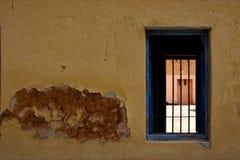 Zanzibar prison island and a old window open Stock Photos