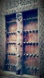Zanzibar& x27; puertas de s imagenes de archivo