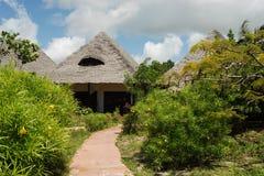 Zanzibar resort Royalty Free Stock Images