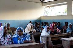 Zanzibar skola Royaltyfri Bild