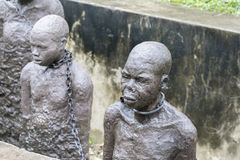 Zanzibar slave monument Royalty Free Stock Images