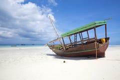 Zanzibar strand Royaltyfri Bild