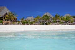 Zanzibar strand Arkivbilder