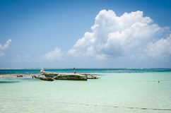 Zanzibar summer vacation pictures inspiring for a holiday on the island Royalty Free Stock Photography