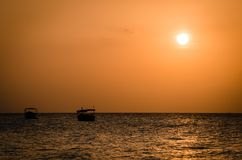 Zanzibar summer vacation pictures inspiring for a holiday on the island Royalty Free Stock Image