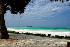 Zanzibar - Tropics - beach. Zanzibar - Local boat, beach and torquoise sea - Indian Ocean stock photos