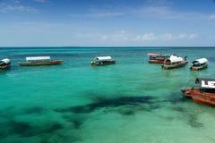 Zanzibar - Tropics - Prison Island. Zanzibar - Nautical vessel at Prison Island - Indian Ocean royalty free stock image