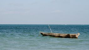 Zanzibars very old boat, Zanzibar Tanzania, February 2019 stock photography