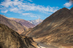 Zanzskar and indus river Royalty Free Stock Photos