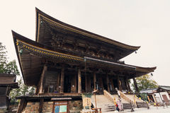 Zao-do is the main hall of Kinpusen-ji Temple. Stock Image