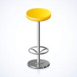 Zaokrąglony krzesło również zwrócić corel ilustracji wektora ilustracja wektor