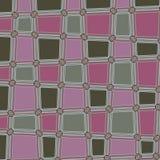 Zaokrąglony Kwadratowy abstrakt Kropkuje Geometrycznego Deseniowego tło Obrazy Royalty Free