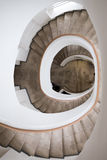 zaokrąglony schody Zdjęcia Stock