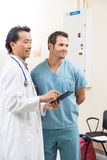 Zaopatrzenie Medyczne Z Cyfrowej pastylką Zdjęcie Stock