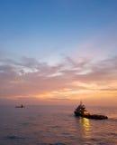 Zaopatrzeniowe łodzie Fotografia Stock