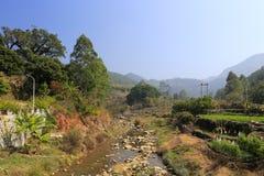 zaoshui村庄, amoy城市,瓷Streem  库存图片
