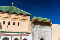 Zaouia de Sidi Bel Abbes en Marrakesh, Marruecos Fotos de archivo