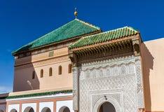 Zaouia de Sidi Bel Abbes en Marrakesh, Marruecos Imagen de archivo libre de regalías