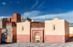 Zaouia de Sidi Bel Abbes en Marrakesh, Marruecos Imagenes de archivo