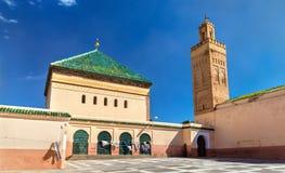 Zaouia De Sidi Bel Abbes w Marrakesh, Maroko Zdjęcia Stock