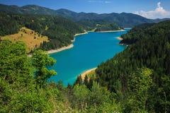 Zaovine湖 库存图片