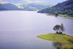 Zaovine jezioro Zdjęcie Royalty Free