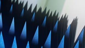 Zapętlać szyka straszni kolce pod dramatycznym oświetleniem, wersja 1 ilustracji