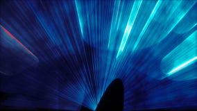 Zapętlający światło laseru tana tło royalty ilustracja