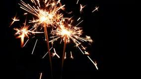 Zapętlający: Sparklers tła abstrakcjonistyczny świętowanie zaświeca luksus zbiory