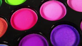 Zapętlający Wirujący barwioną fachową makeup eyeshadows paletę dla kosmetyków, Super makro- strzał zbiory