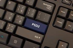 Zapłata Usługuje zarządzenie 2 PSD2 zdjęcia stock