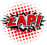 Zap! Obraz Royalty Free