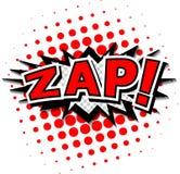 Zap! royaltyfri illustrationer